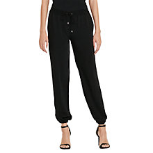 Buy Lauren Ralph Lauren Drawstring Jogger Pants, Polo Black Online at johnlewis.com