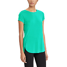 Buy Lauren Ralph Lauren Jersey T-Shirt, Tropic Turquoise Online at johnlewis.com