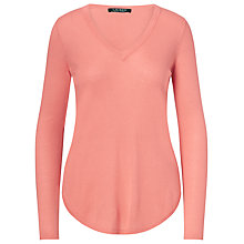 Buy Lauren Ralph Lauren V-Neck Jumper Online at johnlewis.com