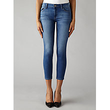 Buy DL1961 Florence Cropped Skinny Jeans, Archer Mid Wash Online at johnlewis.com