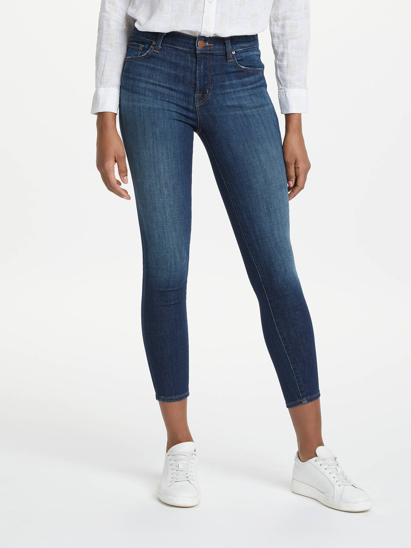 93e16f195fe03 Buy J Brand 835 Mid Rise Cropped Skinny Jeans, Sublime, 24 Online at  johnlewis ...