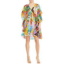 Buy Lauren Ralph Lauren Floral Flutter Sleeve Dress, Multi Online at johnlewis.com