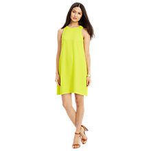 Buy Lauren Ralph Lauren Sleeveless Shift Dress, Acid Green Online at johnlewis.com