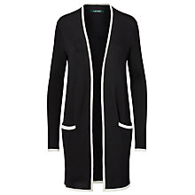 Buy Lauren Ralph Lauren Colour Block Cardigan, Polo Black/Herbal Milk Online at johnlewis.com