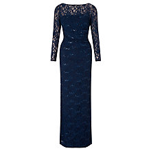 Buy Lauren Ralph Lauren Sequin Maxi Dress, Deep Sapphire Online at johnlewis.com