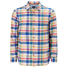Buy John Lewis Check Oxford Shirt, Multi Online at johnlewis.com