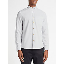 Buy Kin by John Lewis Vertical Fine Stripe Shirt, White Online at johnlewis.com