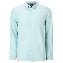 Buy John Lewis Striped Cotton Oxford Shirt Online at johnlewis.com