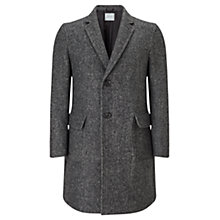 Buy Jigsaw Herringbone Wool Coat, Grey Online at johnlewis.com
