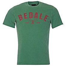 Buy Barbour Affliate 'Bedale' T-Shirt, Racing Green Online at johnlewis.com