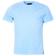 Buy Barbour Tonal Logo Plain Cotton T-Shirt Online at johnlewis.com