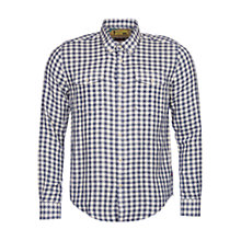 Buy Barbour International Steve McQueen Wit Check Slim Fit Shirt, Indigo Online at johnlewis.com
