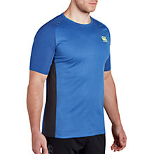Buy Canterbury of New Zealand VapoDri Poly Rugby T-Shirt, Blue Online at johnlewis.com