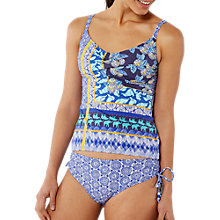 Buy White Stuff Coral Bay Tankini Bottoms, Bright Sky Online at johnlewis.com