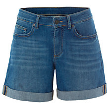 Buy White Stuff Eva Boyfriend Shorts, Denim Online at johnlewis.com