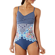 Buy White Stuff Cococabana Placement Print Swimsuit, Multi Online at johnlewis.com