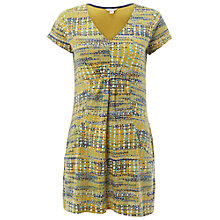 Buy White Stuff Exotic Jersey Tunic, Tourmaline Yellow Print Online at johnlewis.com