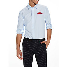 Buy Scotch & Soda Long Sleeve Fixed Pochet Micro Stripe Shirt, Combo C Online at johnlewis.com
