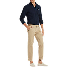 Buy Scotch & Soda Long Sleeve Oxford Shirt, Navy Online at johnlewis.com
