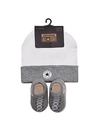 10716af53a84 Converse Baby Chuck Patch Hat   Bootie Set