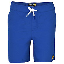 Buy Lyle & Scott Boys' Classic Swim Shorts, Blue Online at johnlewis.com
