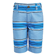 Buy John Lewis Boys' Stripe Shorts, Blue Online at johnlewis.com