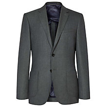 Buy Reiss Abraham Patch Pocket Blazer, Khaki Online at johnlewis.com