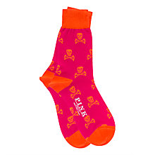 Buy Thomas Pink Hexham Skull and Crossbones Socks Online at johnlewis.com