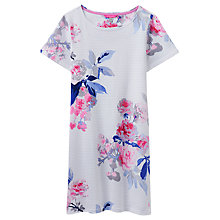 Buy Joules Riviera Jersey Dress, White Bloom Stripe Online at johnlewis.com