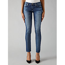 Buy AG The Stilt Skinny Cropped Skinny Jeans, Hiatus Online at johnlewis.com