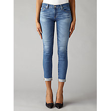 Buy AG The Stilt Roll Up Skinny Jeans, 12 Years Canyon Online at johnlewis.com
