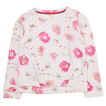 Buy Jigsaw Girls' Blooming Dandelion Sweatshirt, Pink Online at johnlewis.com