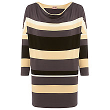 Buy Phase Eight Skye Stripe Tunic Top, Multi Online at johnlewis.com