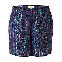 Buy White Stuff Sunny Days Printed Shorts, Waterfall Online at johnlewis.com