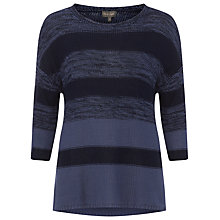 Buy Phase Eight Annah Subtle Stripe Jumper, Denim Online at johnlewis.com