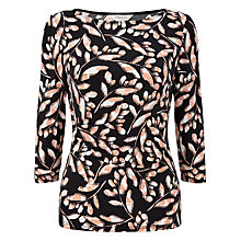 Buy Precis Petite Sasha Print Wrap Top, Multi/Black Online at johnlewis.com