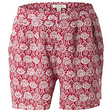 Buy White Stuff Sunny Days Printed Shorts, Red Online at johnlewis.com