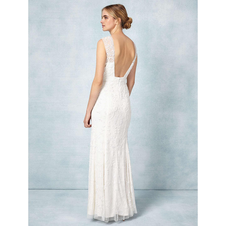 Phase Eight Bridal Ella Rose Wedding Dress, Ivory at John Lewis