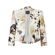 Buy Phase Eight Mayumi Print Jacket, Cream/Multi Online at johnlewis.com