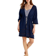 Buy White Stuff Tropical Treasure Embroidered Cover Up Online at johnlewis.com