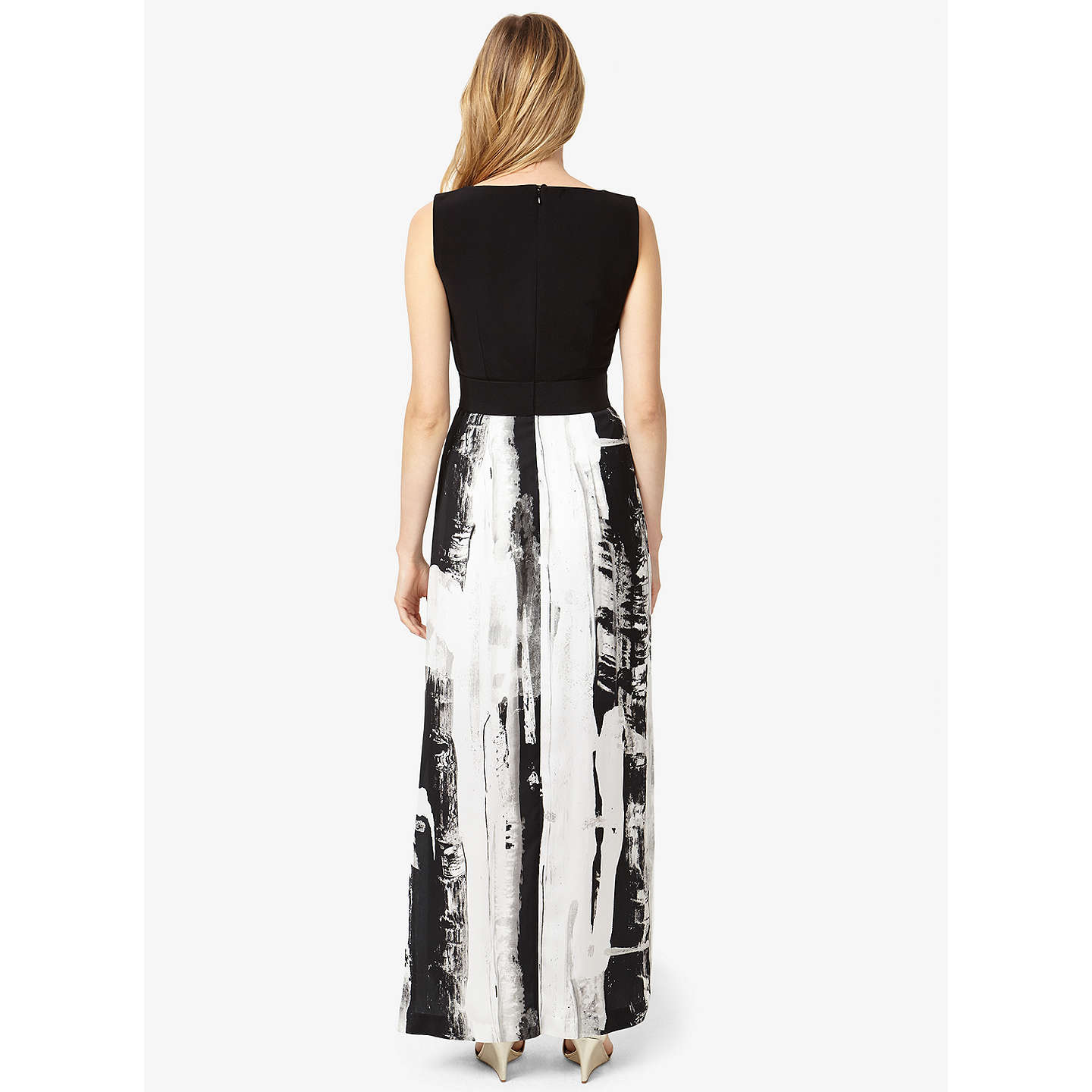 BuyPhase Eight Claireen Maxi Dress, Black/Multi, 6 Online at johnlewis.com