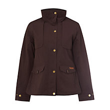 Buy White Stuff Ash Waterproof Jacket, Art Purple Online at johnlewis.com