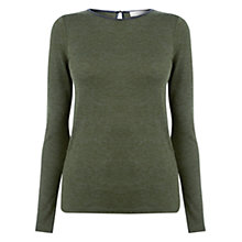 Buy Oasis Warmwear Boatneck Top Online at johnlewis.com
