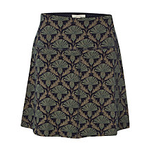 Buy White Stuff Jenny Jacquard Skirt, Wall Blue Online at johnlewis.com