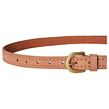 Buy White Stuff Jeanie Belt, Tan Online at johnlewis.com
