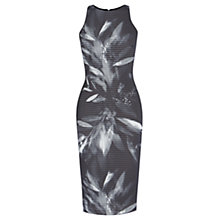 Buy Coast Panama Print Ritvina Dress, Mono Online at johnlewis.com