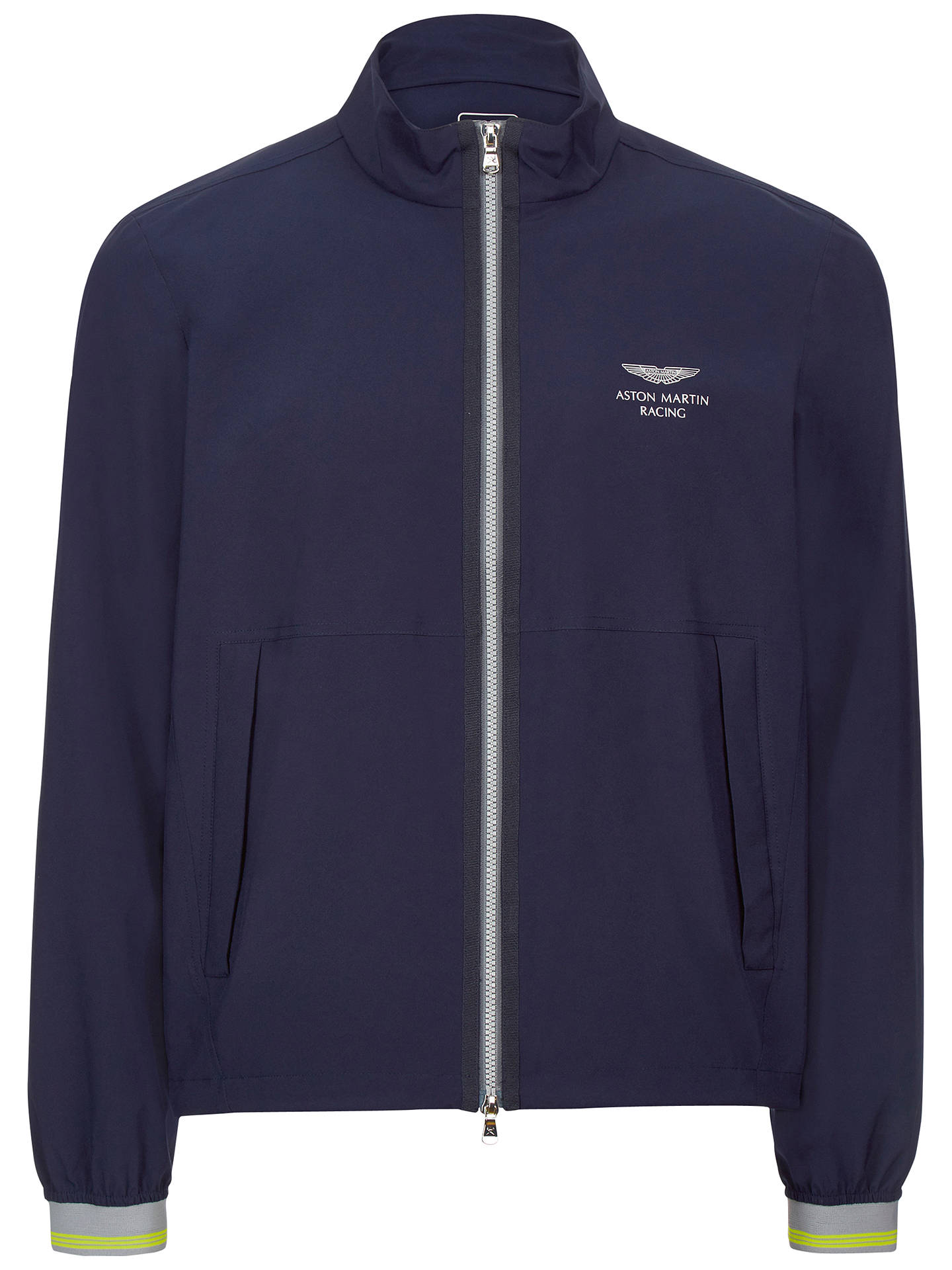 Hackett London Aston Martin Racing Lightweight Jacket Navy At John
