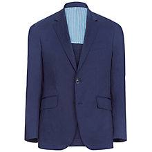 Buy Hackett London Stretch Cotton Blazer, Bright Navy Online at johnlewis.com