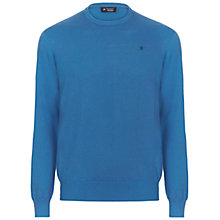 Buy Hackett London Pima Cotton Crew Neck Jumper Online at johnlewis.com