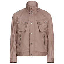 Buy Hackett London Short Velo Jacket, Brown Online at johnlewis.com